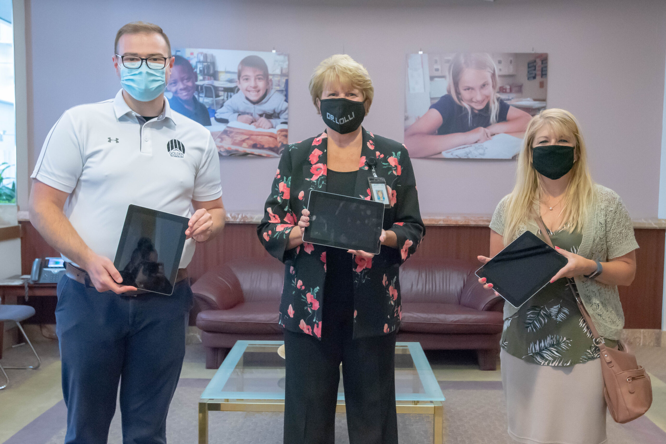Golden Technology Donates Ipads to Dayton Schools